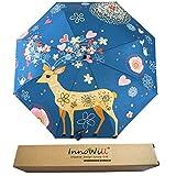 InnoWill Regenschirm Elch Pocket mit 110cm Durchmesser