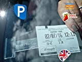 Tikettak - Car, van and caravan windscreen permit, ticket and note holder (Avoid parking fines) (2)