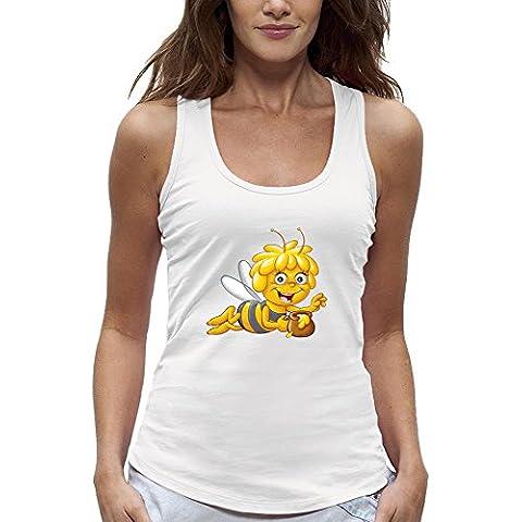 Camiseta sin mangas 3D LA ABEJA MAYA de Realidad Aumentada - PIXEL EVOLUTION - Mujer