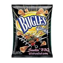 Bugles Corn Snack Smokin Bbq Bugles, 125 Gm