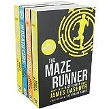 Maze Runner Trilogy Collection James Dashner 4 Books Set (The Scorch Trials, ...