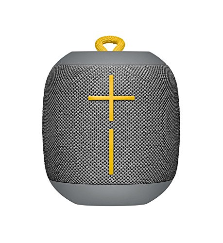 Ultimate Ears WONDERBOOM - Altavoz Bluetooth impermeable con conexión, Gris (Reacondicionado)