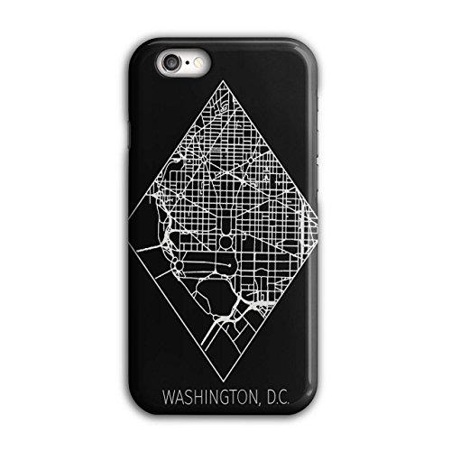 Washington Karte Mode Groß Stadt Karte iPhone 6 / 6S Hülle | Wellcoda