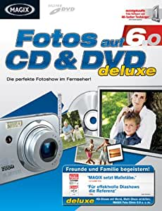 MAGIX Fotos auf CD & DVD 6 deluxe