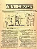 Telecharger Livres VERS DEMAIN MONTREAL No 5 du 01 03 1954 LE DIVIDENDE REPONSE AU CHOMAGE PAR EVEN (PDF,EPUB,MOBI) gratuits en Francaise