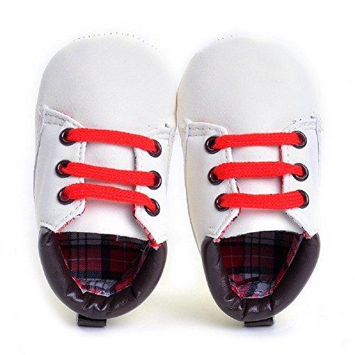 Sneaker hibote weiche M盲dchen Schuhe Wei Neugeborenes Leathe Kleinkind Sohle Jungen Baby Kind Prewalker rxarwqX8