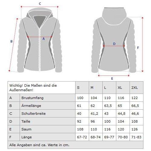 Trisens Damen Jacke ÜBERGANGSJACKE Trenchcoat Kapuze 100% Baumwolle LEICHT KURZ, Farbe:Schwarz, Größe:S - 6