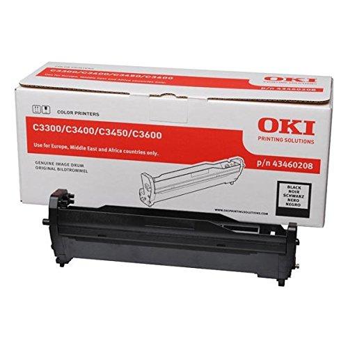 OKI Bildtrommel für C3300 und C3400 Drucker Kapazität 15.000 Seiten, schwarz