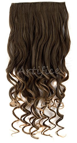 Artifice Super Volume 200gm 26 Inch 5 Clips Curly/Wavy Hair Extension