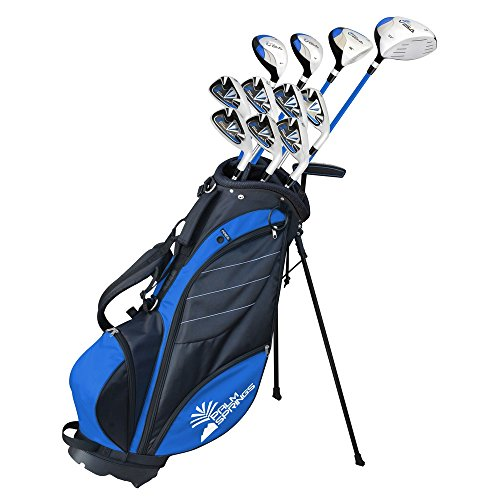Palm Springs Golf Visa V2 Mens Left Hand Graphite/Steel Golf Club Set With Bag