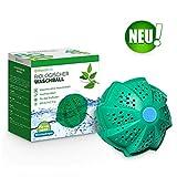 WASCHKLAR Bio Waschball 2.0 [DAS ORIGINAL] | Öko Waschkugel für die Waschmaschine zum Waschen ohne Waschmittel | Laborgeprüft & BPA frei | Allergiker- und Umweltfreundlich, antibakteriell