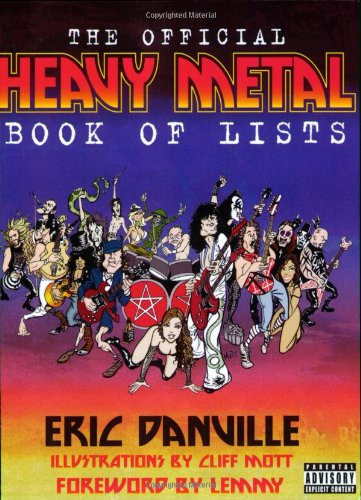 The Official Heavy Metal Book of Lists