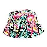 Banbian Viele Muster-Justierbare Kappen-Blumendruck-Boonie-Hüte nepalesische Kappe Armee-Mann-Fischer Hat Frauen Bucket Sun Hat (E)