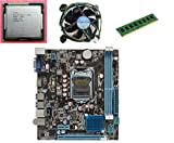 #7: KharidiyeBasic Zebronics Motherboard Combo H55 Chipset Motherboard with Intel Core I5-1st Gen Processor with 2 GB DDR3 RAM Intel Fan