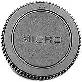 M4/3 tapa camara Micro 4 3 4/3 compatible con Micro 4:3 : : PEN E-P1 P2 P3 P5 E-PL1 PL1s PL3/PL2 PL5 PL6 E-PM1 PM2 OM-D E-M1, E-M5 Panasonic Lumix DMC GH4 GH3 GH2 GH1 GX8 GX7 G10 G1 G2 G3 G5 G6 GF1 GF2 GF3 GF5 GX1/GF6 GM NEGROMAGIC AF 101 Etc - ADAPTOUT MARCA FRANCESA