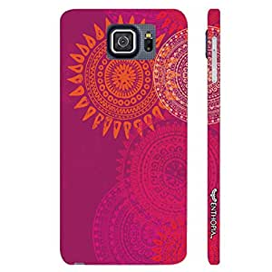 Enthopia Designer Hardshell Case Sun Dance Back Cover for Samsung Galaxy Note 5