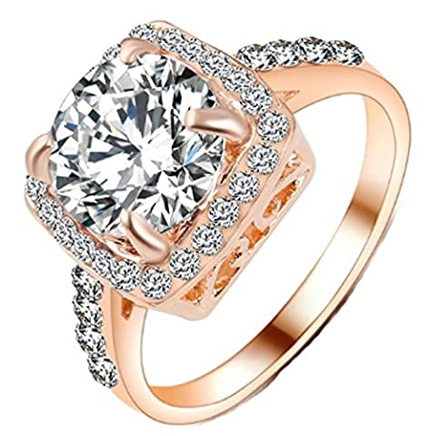 SaySure - Charm Wedding Rings For Women (SIZE : 9)