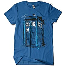 Camiseta Doctor Who - Time And Space (Dr.Monekers)