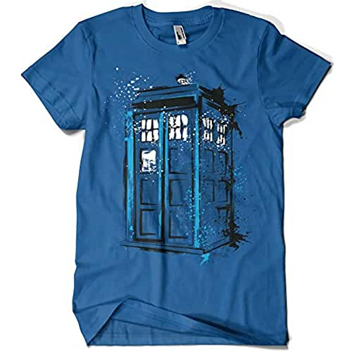 dia del orgullo friki Camiseta Doctor Who - Time And Space (Dr.Monekers)