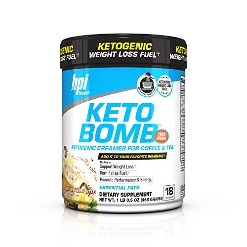 BPI Sports Keto Bomb French Vanilla Latte - 468 gr