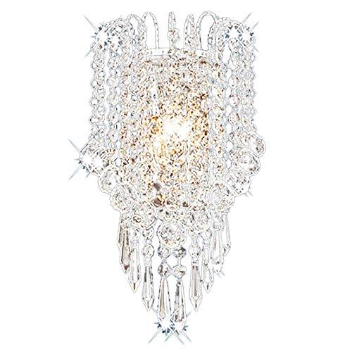TOOGOO KüNstlerisches Metall Moderne GefüHrte Kristall Wand Leuchte Ausgangs Beleuchtungs Wand Leuchte -