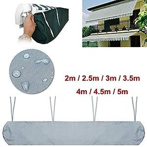 Baogu Schutzhülle für Markisen Markisenabdeckung wasserdicht für die Lagerung im Winter (2,0 m)