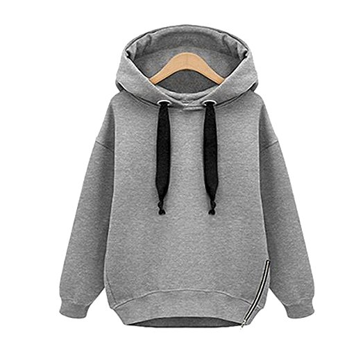 Youthny - Sweat-shirt - Femme Gris