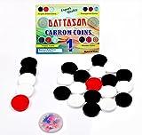 #4: STC Dattason 6MM Acrylic Carrom Coins