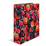 Herma Série fruits Classeur en carton à motif Format A4 Design Waldbeeren