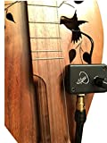 CHERRY DULCIMER MICROPHONE with FLEXIBLE MICRO-GOOSE NECK by Myers Pickups ~ See it in ACTION! Copy and paste: myerspickups.com