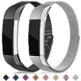 Onedream Compatible pour Fitbit Alta Bracelet/Alta HR Bracelets Femme Homme Noir...