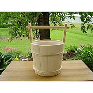 Achleitner Sauna Infusion Bucket Whitewood 5 Liter with Carrying Handle 761