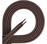 Ladeheid Lacets de qualité en 100% polyester LAKO1001 (marron87, 130cm)