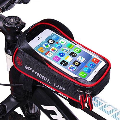 Rahmentasche Fahrrad, LiDiwee Fahrrad Tasche Handy 6
