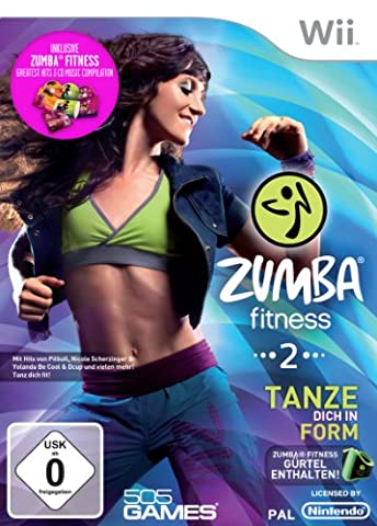 Zumba Fitness 2 - Special Edition (inkl. Fitness-Gürtel und 3 Zumba-Fitness Musik CD's)