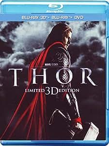 Thor (Blu-Ray 3D + Blu-Ray Disc + DVD);Thor