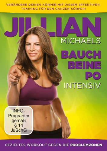 Jillian Michaels - Bauch, Beine, Po intensiv -DVD
