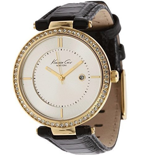kenneth-cole-womens-quartz-watch-classic-kc2675-with-leather-strap