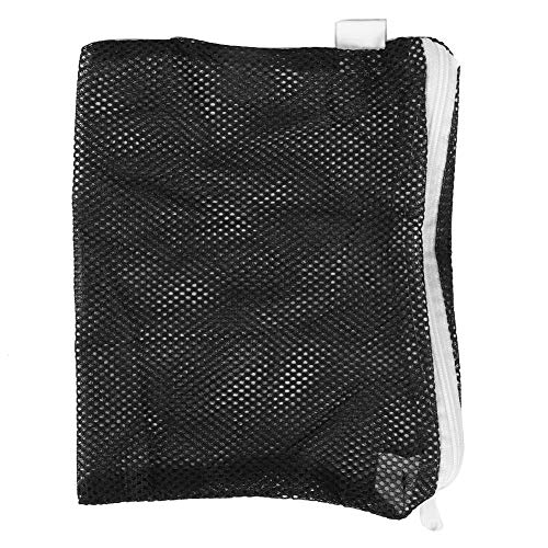 Carbon Filter Media (Pssopp Aquarium Filter Taschen Aquarium Filterbeutel Mesh Fisch Tank Media Tasche mit Reißverschluss für Aquarium Bio Bälle, Pelletized Carbon Aquarium Kies Reiniger (25 * 30cm))