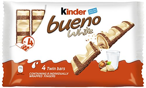 Ferrero Kinder Bueno WHITE 44 Doppelriegel á 39g = 1716g MHD:13.10.18