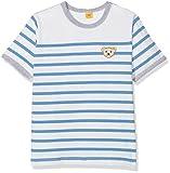 Steiff Collection Jungen T-Shirt 1/4 Arm 6832743, Blau (Lichen Blue 3191),80