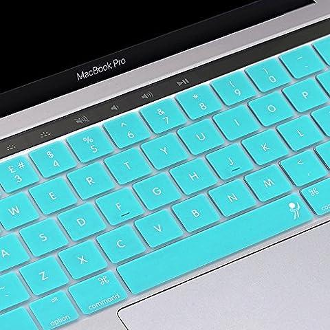 ProElife 2016; Ultradünner Silikon-Tastaturschutz zum Aufkleben für MacBook Pro 13 Zoll (33 cm) (A1706), MacBook Pro15 Zoll (38 cm)