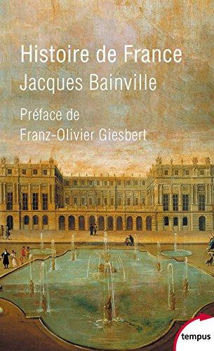 Histoire de France par Jacques Bainville
