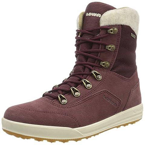 Lowa Kazan GTX MID, Women's High Rise Hiking Shoes, Brown (Bordeaux), 5 UK (38 EU)