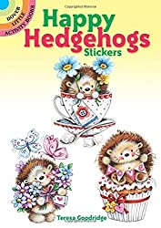 Happy Hedgehogs Stickers (Dover Little Activity Books Stickers) by Teresa Goodridge (2015-10-21)