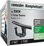 Rameder Komplettsatz, Anhängerkupplung Starr + 13pol Elektrik für BMW 2 Gran Tourer (142620-13830-1)