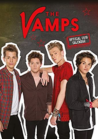 Calendrier Chinois 2016 - The Official the Vamps 2016 A3