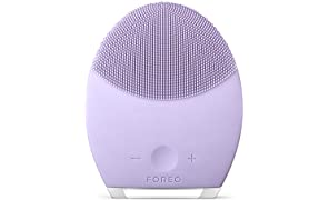 FOREO LUNA 2 Facial Brush and Anti-Aging Face Massager for Sensitive Skin, Gently Removes Dead Skin Cells and Unclogs Pores