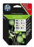 HP 950X L/951X L Black, Cyan, Magenta, Yellow Ink Cartridge–Ink Cartridges (Black, Cyan, Magenta, Yellow, High, 10–90%,-40–60°C, 5–35°C, 10–90%)