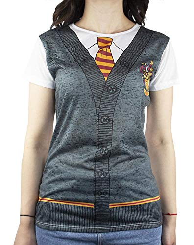 HARRY POTTER Gryffindor Costume Womens/Damen T-Shirt S-XXXL